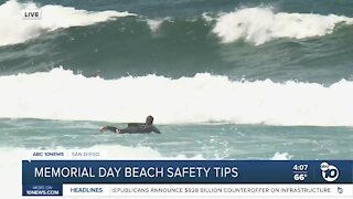 Memorial Day weekend beach safety tips