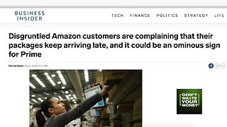 Some Amazon customers complain of delays