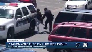 Dravon Ames files civil rights lawsuit
