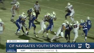 CIF navigates new San Diego-specific youth sports rules