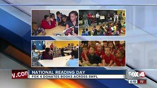 Fox 4 celebrates National Reading Day