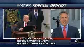 Supreme Court upholds travel ban