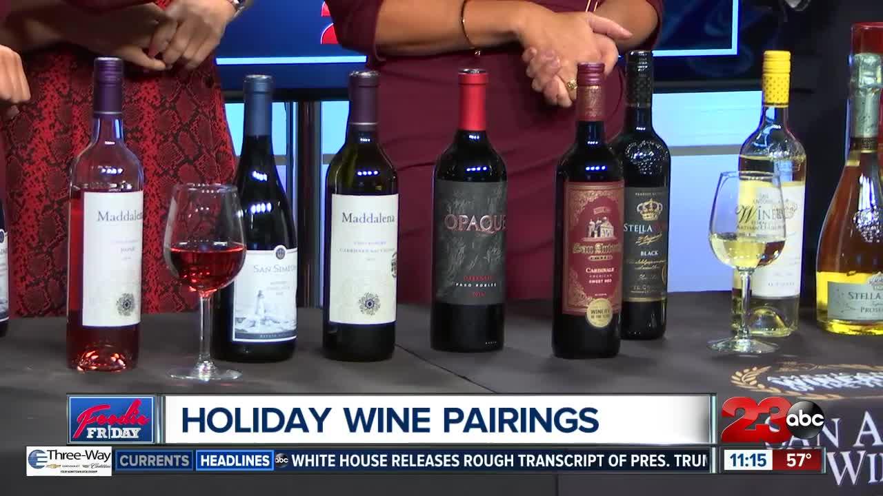 Foodie Friday: Holiday Wine Pairings