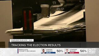 Tracking the election results