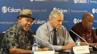 SOUTH AFRICA - Johannesburg - Eskom Press Briefing (Video) (Waz)