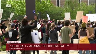 Rally against police brutality planned at Detroit police headquarters