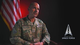 Space Force - U.S. Space Operations Command (SpOC) Chief Master Sgt. John F. Bentivegna