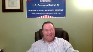 Representatives in Congress, District 19 candidate Patrick Post full interview