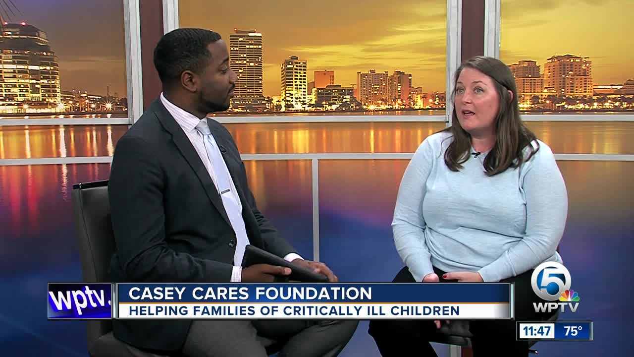 Casey Cares Foundation helping critically ill children