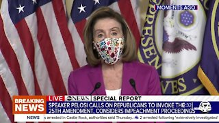 ABC News Special Report: Nancy Pelosi calls to remove Trump from office