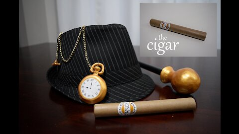 How to Make Men's 1920s Costume Props Part 2- Cigar