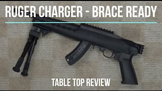 Ruger Charger Brace-Ready 22LR Pistol Tabletop Review - Episode #202016
