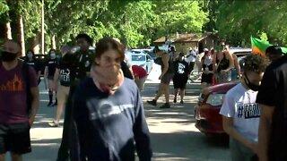 Menomonee Falls village trustee's social media post prompts protest