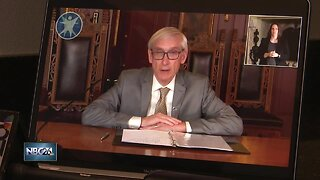 Gov. Tony Evers briefs public after Wisconsin Supreme Court ruling