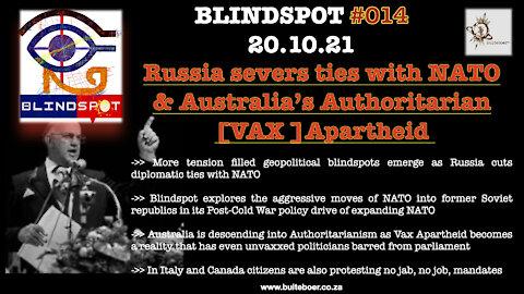 Russia severs ties with NATO & Australia's Authoritarian [VAX] Apartheid