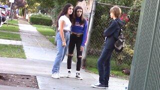 Social experiment: Boy gets bullied by girls in public