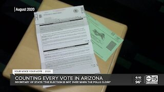 Counting every vote in Arizona