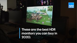 The best HDR monitors for 2020