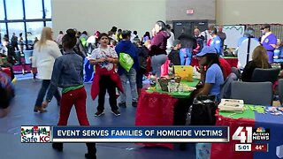 Christmas event helps children of homicide victims