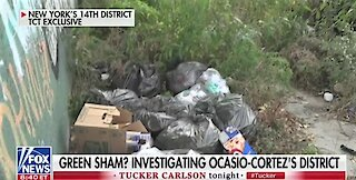 AOC's district is filthy and overrun with illegal aliens