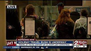 Holiday Travel Rush is Underway