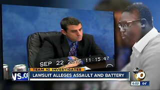 Lawsuit alleges assault, battery by San Diego Sheriff's deputy