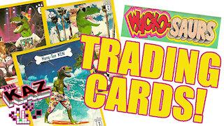 Wacko-Saurs Trading Cards