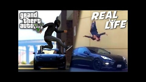 GTA vs REAL || Real Cars/Real places Vs GTA Cars/GTA places || Comparision || #subscribe