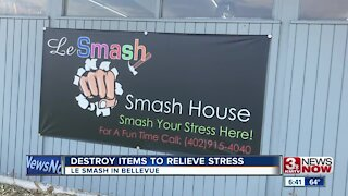 Bellevue business lets people destroy items to relieve stress
