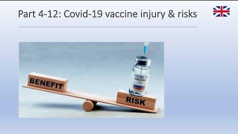 Part 4-12: Covid-19 vaccine injury & risks