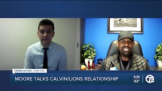 Former Lions WR Herman Moore talks team's relationship with Calvin Johnson