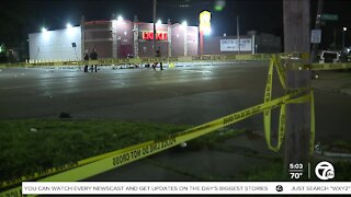 At least 7 shot when suspect opened fire on candlelight vigil on Detroit's west side
