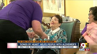 Musical program helps people with Alzheimer's