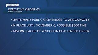 Wisconsin judge blocks governor's order limiting capacity