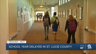 St. Lucie County schools delaying start to academic year