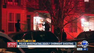 Police investigating early morning homicide in Denver's Five Points neighborhood