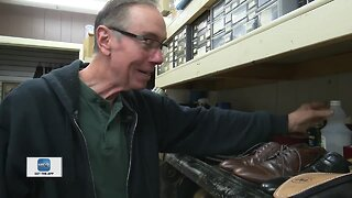 Keeping your shoes clean in the winter; meet the man fixing the problem