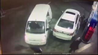 Man Thwarts Carjackers with a Gasoline Shower