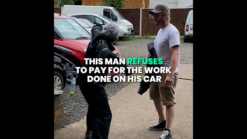Mechanic Adds A Charge Of £200 Without Telling Client And Altercation Ensues!!