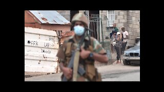 South Africa - Cape Town - SA soldiers slammed for 'abusing their powe (9uK)