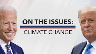 President Trump And Joe Biden Views On Climate Change