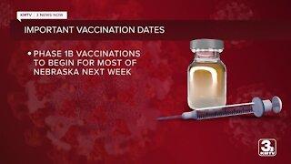 Nebraska COVID vaccine registration website launches next week