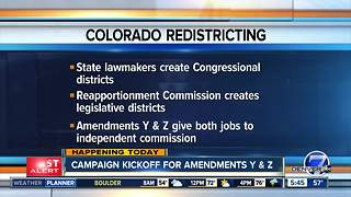 Amendments Y & Z would change Colorado redistricting