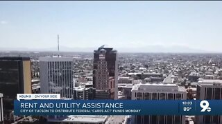 Rent and utility assistance from the City of Tucson