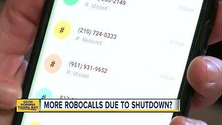 Robocalls increase during government shutdown