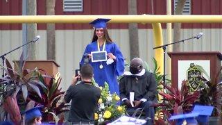 Martin County High School makes good on graduation ceremony