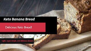 Keto Banana Bread - TASTE JUST LIKE REAL BANANA'S!