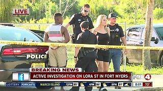 Three people in custody in Lora Street investigation
