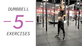 Full Body DUMBBELL Workout 😍