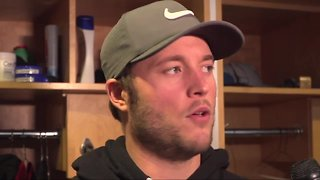 Matthew Stafford addresses trade rumors, says he wants to finish career in Detroit